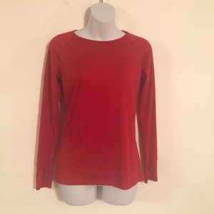 Danskin Now Women's Long Sleeve Active Shirt Sz XS